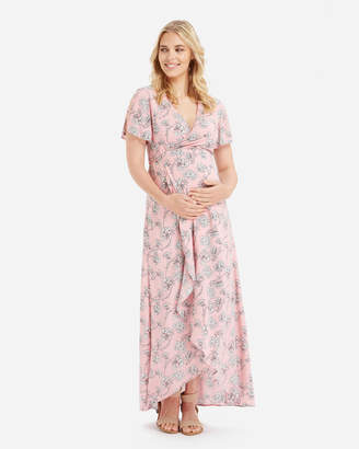 Camilla Maxi Wrap Dress