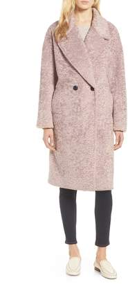 AVEC LES FILLES Boucle Cocoon Coat
