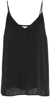 Racil Bettina leopard-jacquard camisole