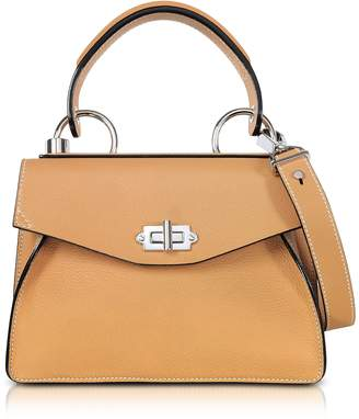 Proenza Schouler Wheat Lindos Leather Small Hava Top Handle