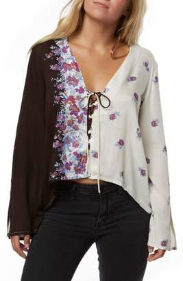 O'Neill Charley Floral Print Top