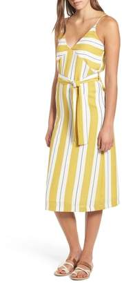 Dee Elly Stripe Midi Dress