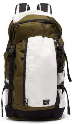 Porter-yoshida & Co. - Hype Canvas Backpack - Mens - White Multi