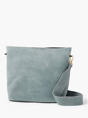 61aa7c76ec41e at John Lewis and Partners · Neuville Supergirl Suede Cross Body Bag