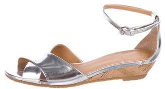 Marc by Marc Jacobs Metallic Crossover Sandals
