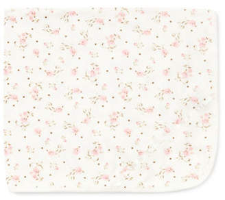 Little Me Rose Scroll Receiving Blanket