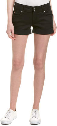 Hudson Jeans Jeans Ruby Black Mid-Thigh Short