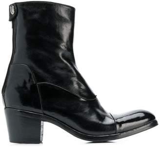 Alberto Fasciani block heel boots