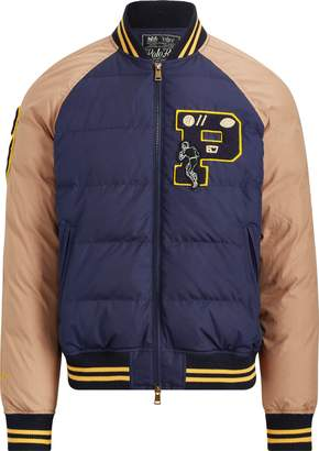 Ralph Lauren Down Letterman Jacket