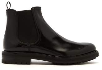 Dolce & Gabbana Leather Chelsea Boots - Mens - Black
