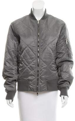 Rag & Bone Quilted Bomber Jacket