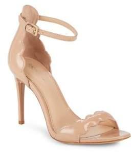 Rachel Zoe Ava Scalloped Patent Leather Sandals