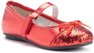 Jumping Beans® Toddler Girls' Glitter Mary Jane Shoes $34.99 thestylecure.com