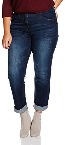 Ulla Popken Women's Röhrenjeans 5-Pkt. Form Jeans