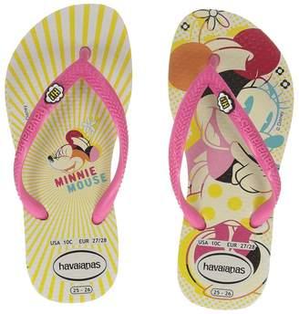 Havaianas Slim Disney Cool Flip Flops Girls Shoes