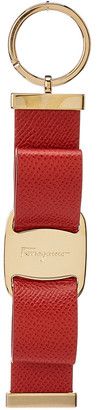 Salvatore Ferragamo Vara Leather Key Ring