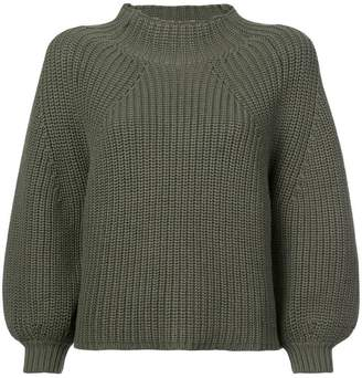 Apiece Apart puff sleeves jumper