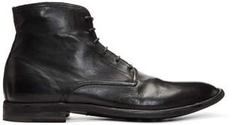 Officine Creative Black Standard 7 Boots