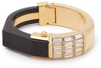 Cercle Amédée Cercle Amedee - She Couldn't Take It Crystal Embellished Bangle - Womens - Black