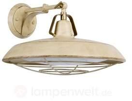Industriell designte LED-Wandlampe Plec mit IP44