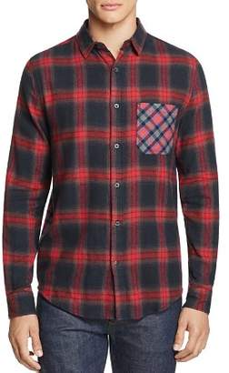 Sovereign Code Local Legend Mixed-Print Flannel Regular Fit Button-Down Shirt - 100% Exclusive