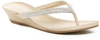 Kenneth Cole Reaction Great Time Wedge Sandal $49 thestylecure.com