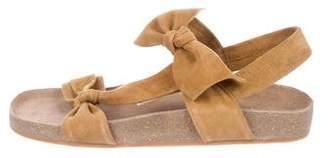 Ulla Johnson Suede Slide Sandals w/ Tags
