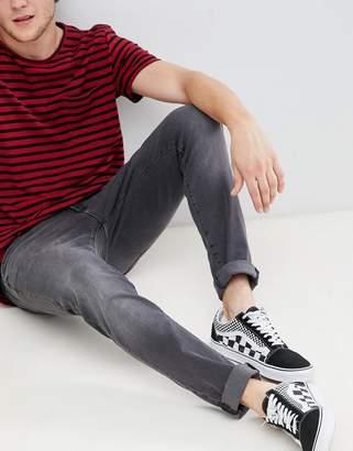 Wrangler bryson skinny jeans grey zone
