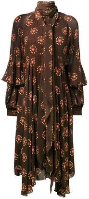 Etro pussy bow dress