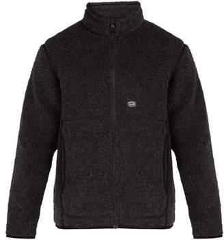 Snow Peak - Zip Up Fleece Jacket - Mens - Black