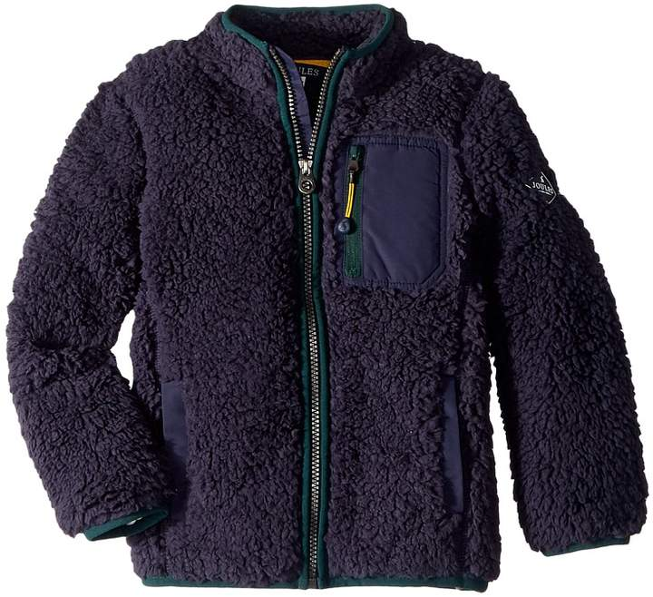 Joules Kids Sherpa Zip Through Fleece (Toddler/Little Kids/Big Kids)
