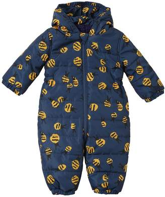 Stella McCartney Bee Printed Hooded Nylon Baby Bunting