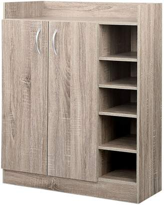 Resort Living Shoe Storage Penelope Shoe Cabinet, Natural