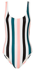 Solid & Striped Solid & Striped Anne-Marie Striped Swimsuit $168 thestylecure.com