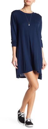 Allen Allen Hi-Lo Tee Dress $78 thestylecure.com