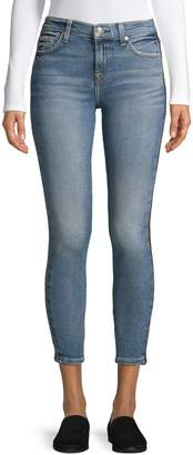 7 For All Mankind Five-Pocket Ankle Skinny Jeans