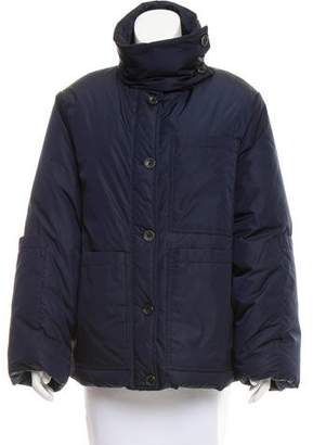 Joseph Zip-Up Puffer Jacket