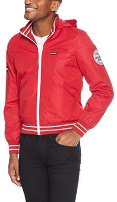 Members Only Men's Zip-Off Hooded Sail Jacket