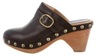 Isabel Marant Leather Studded Clogs