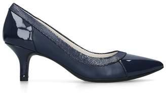 Anne Klein - Navy 'Fabryce' Pointed Toe Court Heels