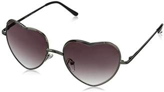 A. J. Morgan A.J. Morgan Women's Heart of Glass Round Sunglasses
