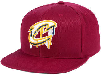 Mitchell & Ness Cleveland Cavaliers Dripped Snapback Cap