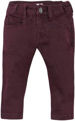 Jean Bourget Partially Elasticized Waist Jeans
