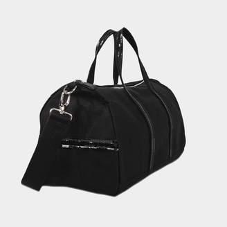 Vanessa Bruno Sequins and canvas Gym bag