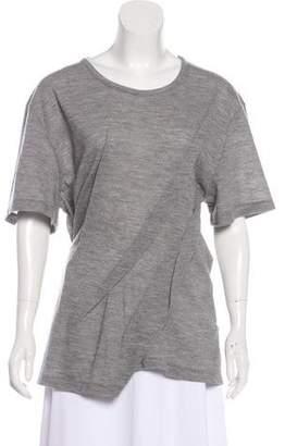 Maison Margiela Short Sleeve Jersey Top