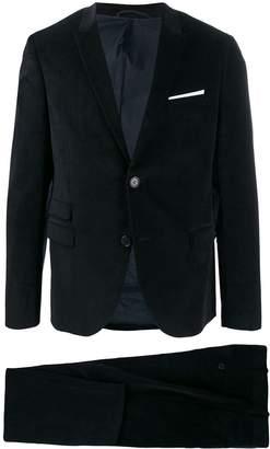 corduroy two-piece suit