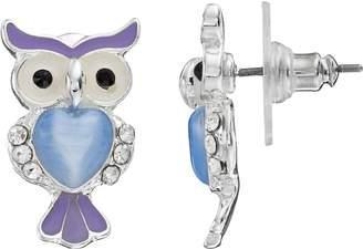 Lauren Conrad Owl Stud Earrings