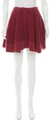 Missoni Fluted Knit Skirt