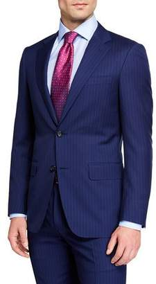 Canali Men's Textured Stripe Two-Piece Suit