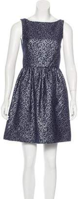 Alice + Olivia Brocade Mini Dress